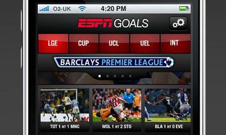ESPN-Goals-app-on-iPhone
