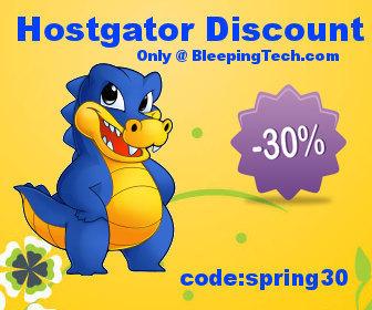hostgator 30% discount