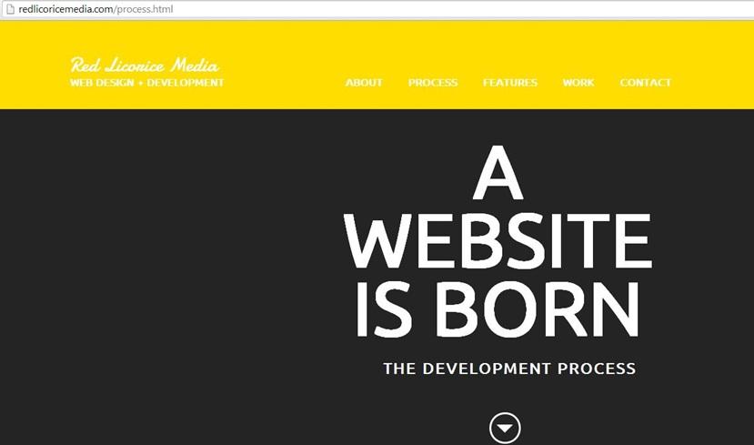 Red Licorice Media web design