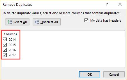 Data tab excel